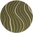 rug #554134 | round abstract rug