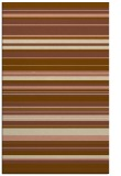 rug #557113 |  brown stripes rug