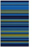 rug #557137    blue stripes rug