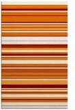 rug #557161 |  orange stripes rug