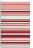 rug #557189 |  white stripes rug