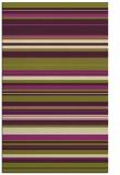 rug #557197 |  purple stripes rug