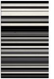 rug #557241 |  black stripes rug