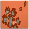 rug #559981 | square orange natural rug