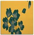 rug #560089 | square yellow natural rug