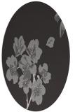 rug #560337 | oval natural rug