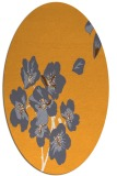 rug #560485   oval light-orange natural rug