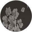 rug #561041 | round red-orange natural rug