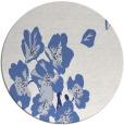 rug #561121   round blue rug