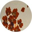rug #561157   round beige natural rug