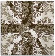 rug #561545   square white retro rug