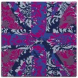 rug #561573 | square blue abstract rug