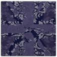 rug #561629 | square blue-violet rug