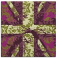 rug #561773 | square purple abstract rug