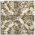 rug #561840   square retro rug
