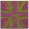 rug #561873   square pink retro rug