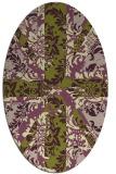 rug #562059 | oval abstract rug