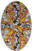 rug #562083 | oval damask rug