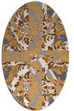 rug #562246 | oval damask rug