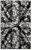 rug #562253 |  black damask rug