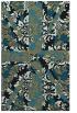 rug #562269 |  black damask rug