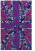 rug #562277 |  pink retro rug