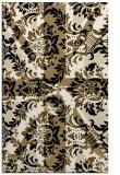 rug #562325    blue-green abstract rug