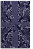 rug #562333 |  blue-violet abstract rug