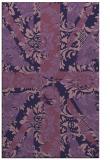 rug #562345 |  blue-violet abstract rug