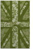 rug #562373 |  green abstract rug