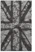 rug #562449 |  orange abstract rug