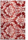 rug #562497 |  red retro rug