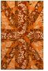 rug #562509    red-orange rug