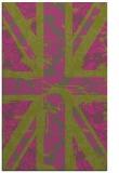 rug #562577 |  pink abstract rug