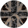 rug #562614 | round abstract rug