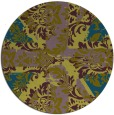 rug #562663 | round abstract rug