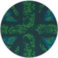 rug #562684 | round retro rug
