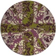 rug #562763 | round abstract rug