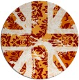 rug #562796   round abstract rug