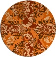 rug #562863 | round abstract rug