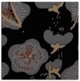 rug #565073 | square black gradient rug