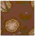 rug #565209 | square mid-brown gradient rug