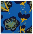 rug #565233 | square blue gradient rug