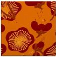 rug #565253 | square orange gradient rug