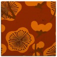 rug #565321 | square red-orange gradient rug