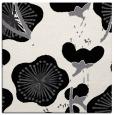 rug #565337 | square black gradient rug