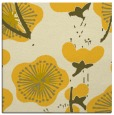 rug #565353 | square yellow gradient rug