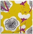 rug #565365 | square yellow gradient rug