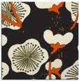 rug #565373 | square black gradient rug