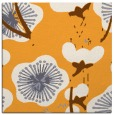 rug #565413 | square light-orange gradient rug